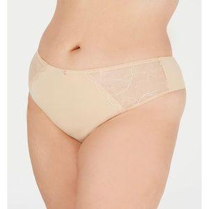 INC International Concepts Plus Lace Thong NWT